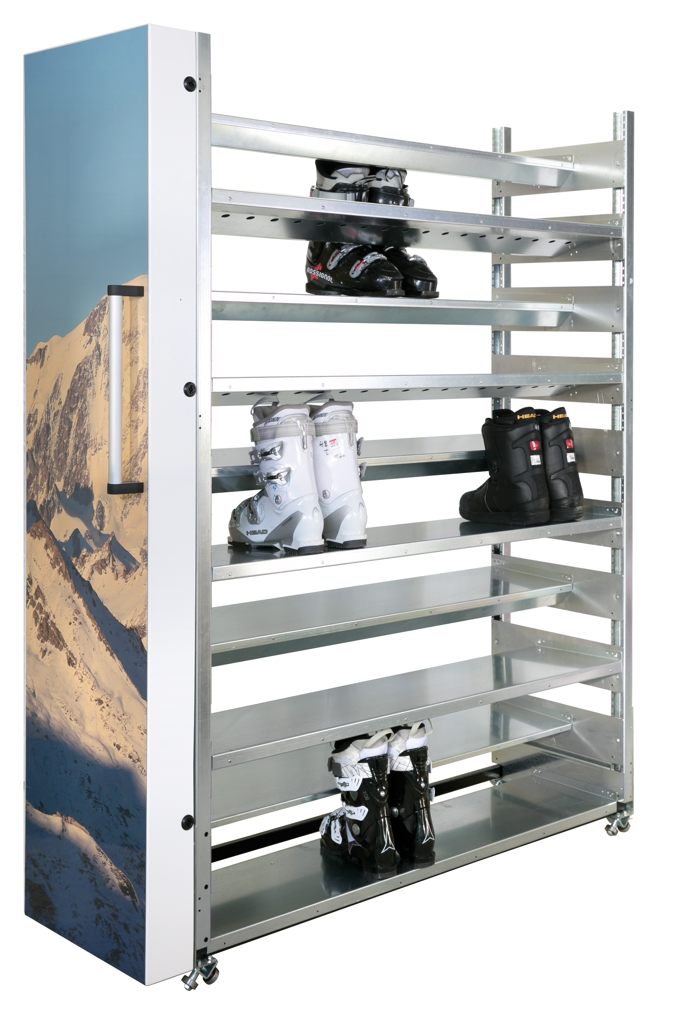 etagere chaussure de ski. Black Bedroom Furniture Sets. Home Design Ideas